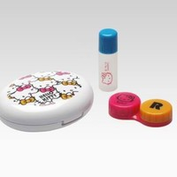 Hello Kitty Soft Contact Lens Case: Bright Bows