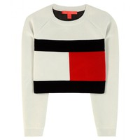mytheresa.com exclusive Flag cropped sweatshirt