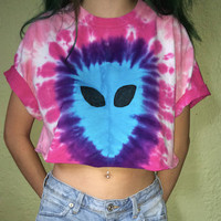 Alien crop tops