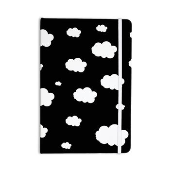 "Suzanne Carter ""Clouds"" Black White Everything Notebook"