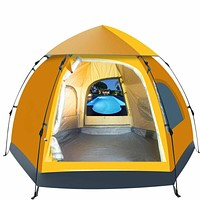 5-6 People Waterproof, Automatic, Outdoor, Instant Pop Up Tent, Camping, Hiking, Tent