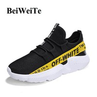 Men's Big Size Sneakers Running Shoes Soft Breathable Non-slip Jogging Light Walking Gym Trainers Autumn Outdoor Sport Shoes New