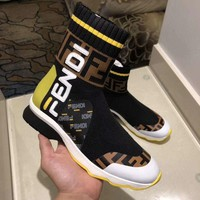 Fendi Women Fashion Casual Heels Shoes Boots