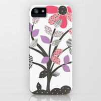 Le feuille iPhone & iPod Case by Louise Machado