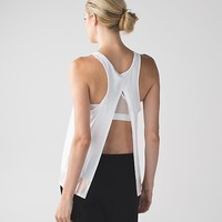 all tied up tank *scoop | women's yoga tank tops | lululemon athletica