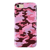 Dusty Rose Camo iPhone Case