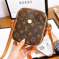 Bunchsun Louis Vuitton LV New Trending Women Leather Crossbody Satchel Shoulder Bag