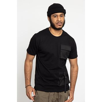 Double Pocket Utility T-Shirt