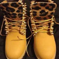 New Studded Timberland Boots