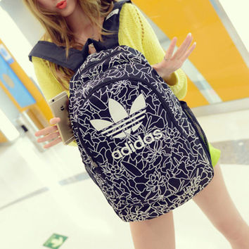Casual Lightweight Canvas Laptop Bag Shoulder Bag School Backpack