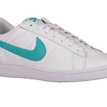 Nike Men's Tennis Classic CS White/Clear Jade Tennis Shoes