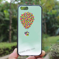 Up balloons,clouds houses,iphone 4/4s case,Death Skeleton Side iphone 5 case,iphone 5s case,iphone 5c case,Christmas Gift,Personalized