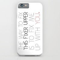 Kristof's pick up line.  iPhone & iPod Case by Studiomarshallarts