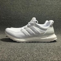 Adidas Yeezy Ultra Boost White Sport shoes Size 36-45