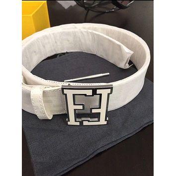 Fendi Belt [White]