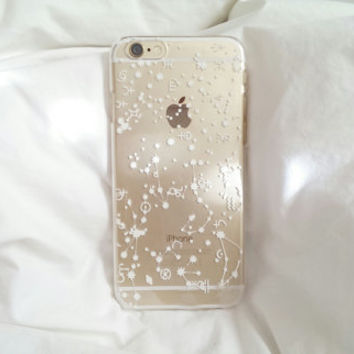 IPhone 6 6S 5/5S Celestial Star Constellation Clear Case