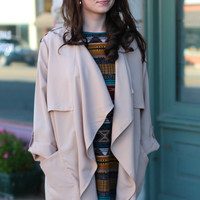 In the Trenches Dress Jacket {Nude}