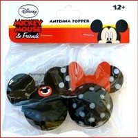 Mickey Mouse Club and Minnie Mouse Polkadot Antenna Toppers:Amazon:Toys & Games
