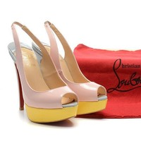 CL Christian Louboutin Fashion Heels Shoes-22