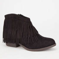 Soda Jervis Womens Booties Black  In Sizes