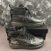 Morechoice Tuhz Nike Sf Air Force 1 Mid Tiger Camo Sneakers Casual Skaet Shoes Boots Aa7345-001