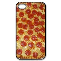 Popular Pepperoni Pizza New Style Durable Iphone 4,4s Case Hard iPhone Cover Case
