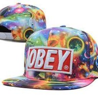Perfect obey hats Women Men Embroidery Sports Sun Hat Baseball Cap Hat