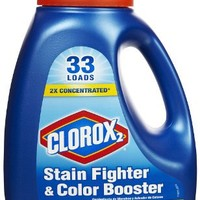 Clorox 2 Liquid 2X Concentrated, 45.4 Ounce