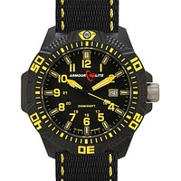 ArmourLite Caliber Series - Yellow Accents - Nylon Strap - Tritium - Date - 200m