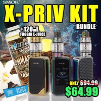 Smok X-Priv 225w Kit + 120mL Fuggin eLiquid
