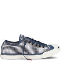 Converse - Jack Purcell Pocket Square - Low - Blue Stripes