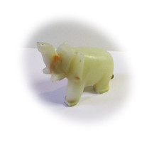 Lovely Handcrafted Multicolored Onyx Elephant
