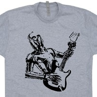 C3PO Guitar T Shirt Vintage Fender Guitar T Shirt Cool Guitar Shirt