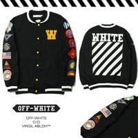 Sports Hot Deal On Sale Jacket Embroidery Baseball [23290511379]