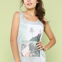 Palm Tree Graphic Top