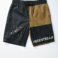 Been Trill Nylon Shorts - Mens Shorts - Multi