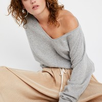 Free People Lure Me In Cashmere Sweater
