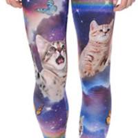 Workshop Space Cats Cosmic Trip Leggings