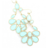 Turkish Earring - Aqua