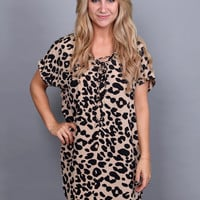 Talk Leopard To Me Dress