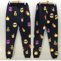 Emoji Fire/Money Joggers