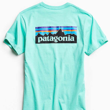 Patagonia P-G Logo Tee   Urban Outfitters