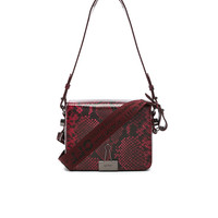 OFF-WHITE Flap Bag in Red | FWRD
