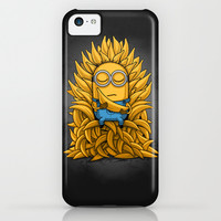 Minion Throne iPhone & iPod Case by Naolito