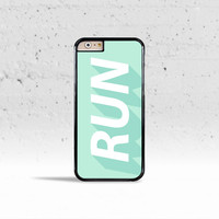 Run Free Case Cover for Apple iPhone 4 4s 5 5s 5c 6 6s Plus & iPod Touch
