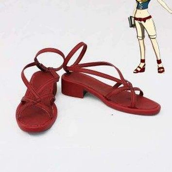 Fairy Tail Cosplay Levy Mcgarden Cosplay Boots Shoes Anime Party Cosplay Boots Custom Made Women Shoes