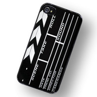 iPhone Case Hollywood Directors Movie Clap Board  / Hard Case For iPhone 4 and iPhone 4S  For Movie stars and Movie Makers
