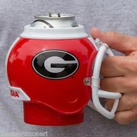 Georgia Bulldogs All in One Helmet Can, Bottle Cooler Mug and Desk Caddy