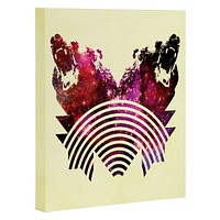 Fimbis Its A Grizzly Space Out There Art Canvas