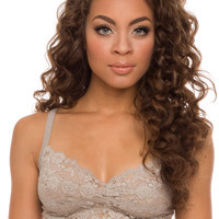 Thea Bralette - Taupe